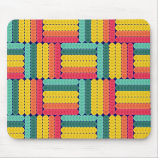 Soft spheres pattern mouse pad