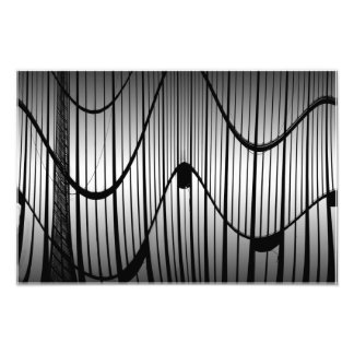Soft steel photo print
