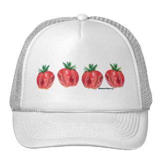 Soft Strawberries Trucker Hats