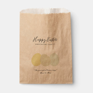 SOFT SUBTLE PASTEL EASTER EGGS PERSONALIZED GIFT FAVOUR BAG