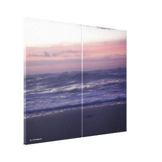 Soft Sunrise on the Beach Canvas Print