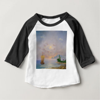 Soft sunset beach (all) baby T-Shirt