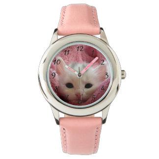 Soft sweet puppy kitty wristwatch