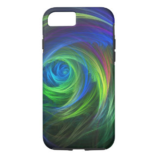 """Soft Swirl"" Fractal Abstract iPhone 8/7 Case"