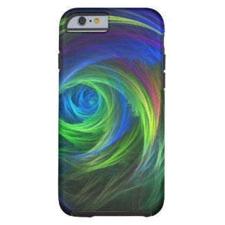 """Soft Swirl"" Fractal Abstract Tough iPhone 6 Case"