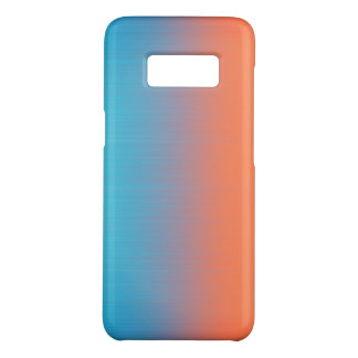 Soft Toned Orange Blue Case-Mate Samsung Galaxy S8 Case
