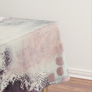 Soft Touch Painterly Table Cloth Tablecloth