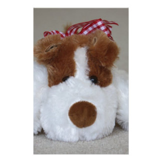 Soft Toy Puppy Stationery