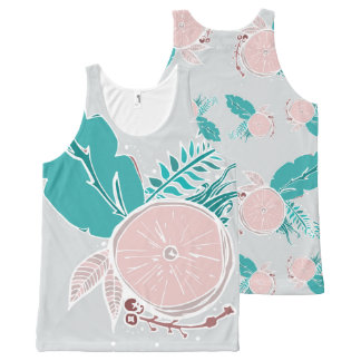 Soft Tropics All-Over Print Tank Top