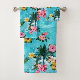 Soft Tropix Bath Towel Set