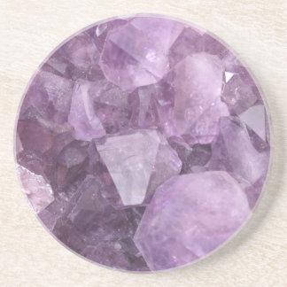 Soft Violet Amethyst Coaster