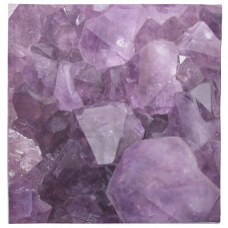 Soft Violet Amethyst Napkin