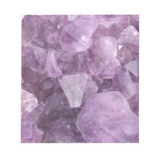 Soft Violet Amethyst Notepad