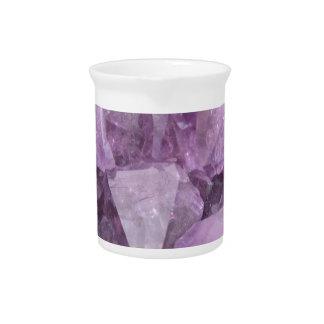 Soft Violet Amethyst Pitcher