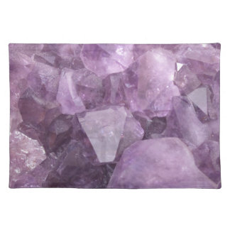 Soft Violet Amethyst Placemat