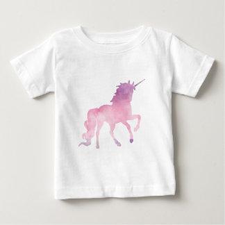 Soft watercolor pink unicorn baby T-Shirt