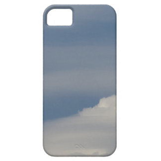 Soft white clouds against blue sky background case for the iPhone 5