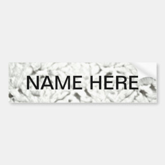 Soft White Paper Products for Any Time Use Bumper Sticker