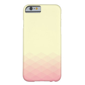 Soft Yellow and Pink Gradient Barely There iPhone 6 Case