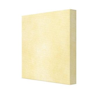 Soft Yellow Background Canvas Print