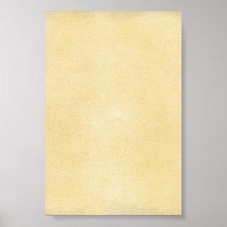 Soft Yellow Background Print