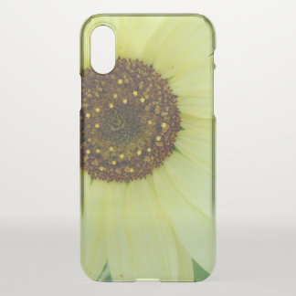 Soft Yellow Sunflower iPhone X Case