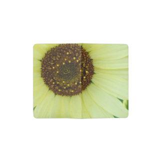 Soft Yellow Sunflower Pocket Moleskine Notebook