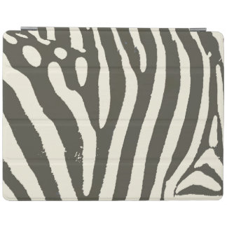 Soft Zebra Print Modern Contemporary iPad Cover