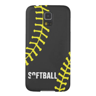 Softball Abstract Galaxy S5 Covers