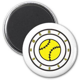 softball All Time 6 Cm Round Magnet