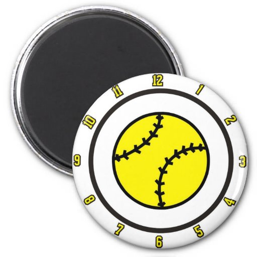 softball All Time Refrigerator Magnets