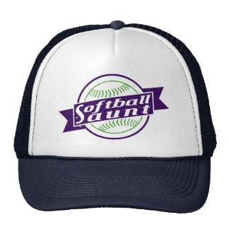 Softball Aunt Mesh Hat
