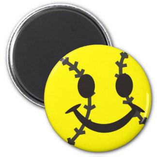 Softball Be Happy 6 Cm Round Magnet