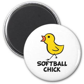 Softball Chick Magnet