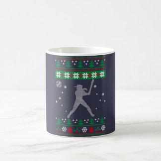 Softball Christmas Coffee Mug