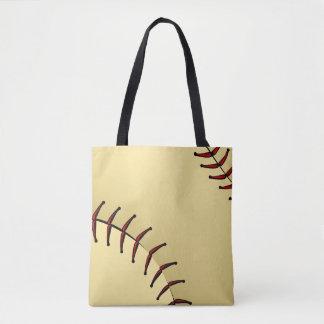 Softball Closeup Graphic Tote Bag