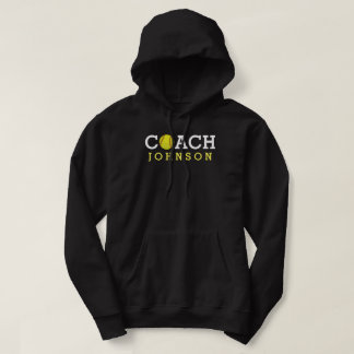 Softball Coach Custom Name Hoodie