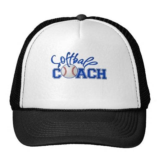 Softball Coach Mesh Hats