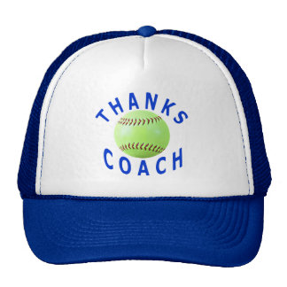 Softball Coach Thank You Gift Cap, Hat