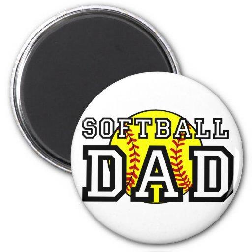 Softball Dad Magnets