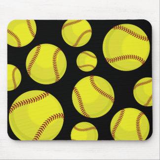 Softball Fan Mouse Pad