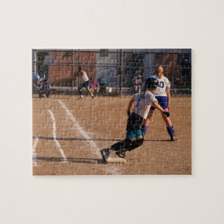Softball game puzzle
