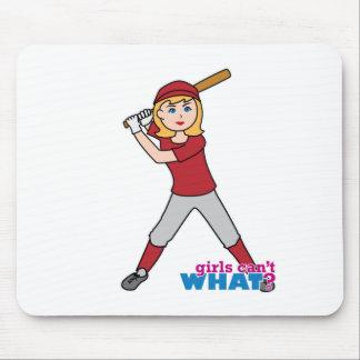 Softball Girl Mousepads