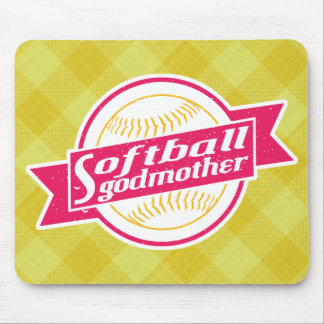Softball Godmother Mousemat