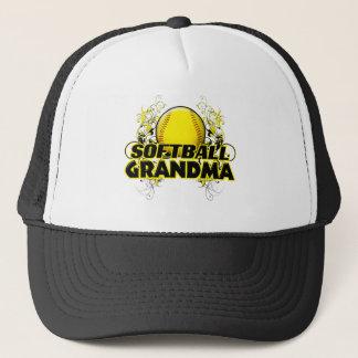 Softball Grandma (cross).png Trucker Hat
