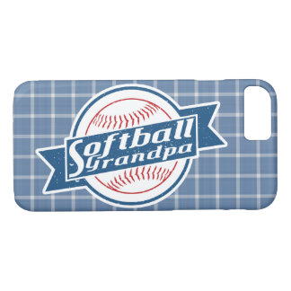 Softball Grandpa Phone Case