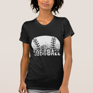 Softball Grunge T-Shirt