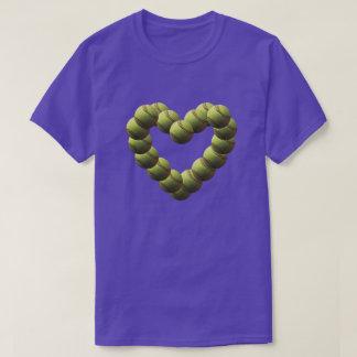 Softball Heart Twisty Softballs T-Shirt