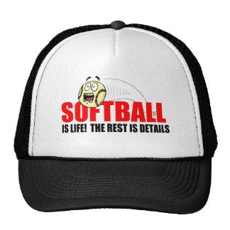 Softball Is Life Mesh Hat