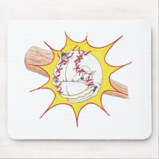 Softball Logo Mousepads